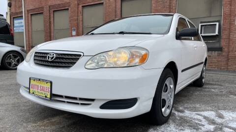 2006 Toyota Corolla for sale at Rocky's Auto Sales in Worcester MA