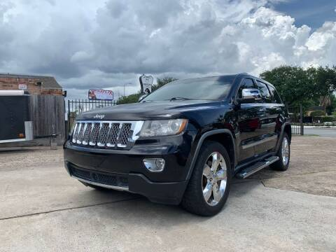 2012 Jeep Grand Cherokee for sale at PARK PLACE AUTO SALES in Houston TX