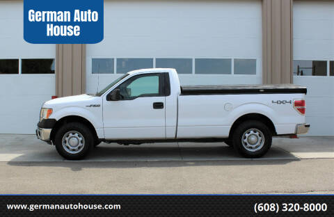 2014 Ford F-150 for sale at German Auto House in Fitchburg WI