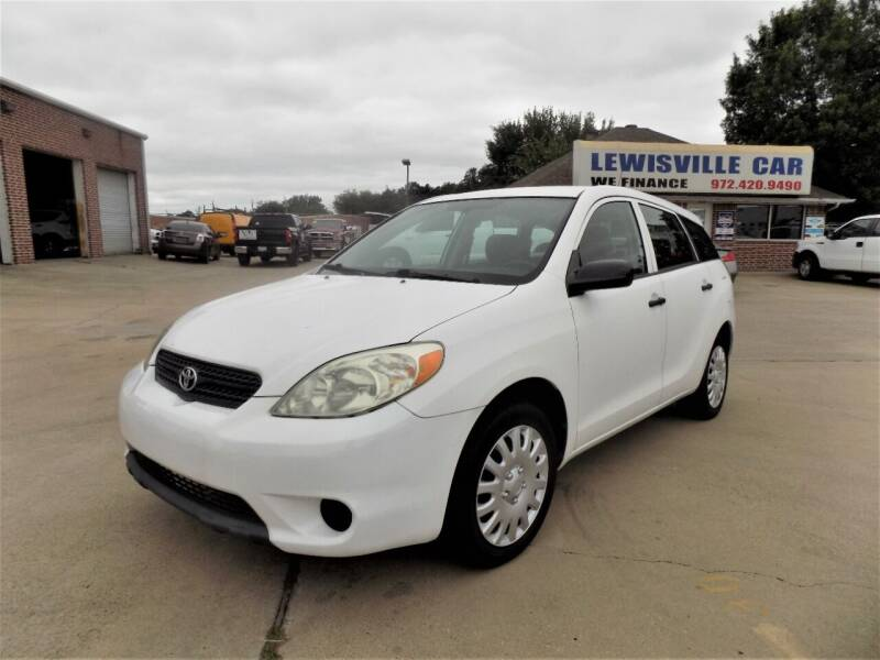 2005 Toyota Matrix for sale at Lewisville Car in Lewisville TX