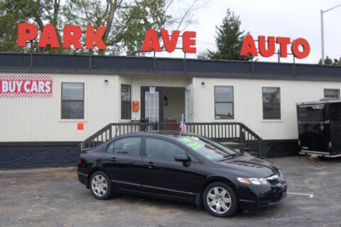 2010 Honda Civic for sale at Park Ave Auto Inc. in Worcester MA