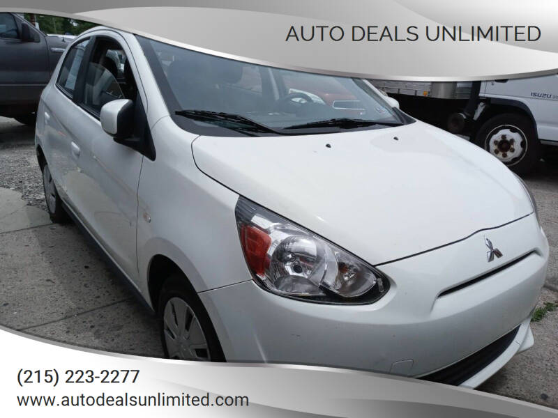 2014 Mitsubishi Mirage for sale at AUTO DEALS UNLIMITED in Philadelphia PA