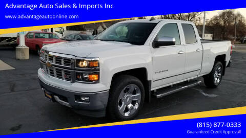 2015 Chevrolet Silverado 1500 for sale at Advantage Auto Sales & Imports Inc in Loves Park IL