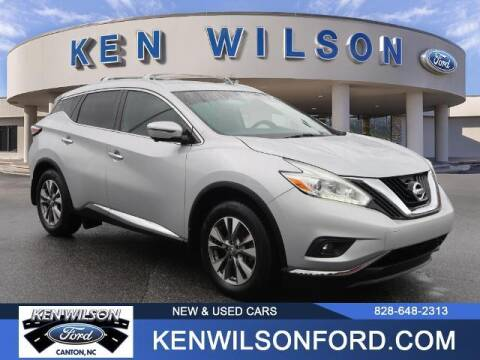 2016 Nissan Murano for sale at Ken Wilson Ford in Canton NC