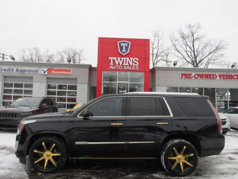 2015 Cadillac Escalade for sale at Twins Auto Sales Inc in Detroit MI