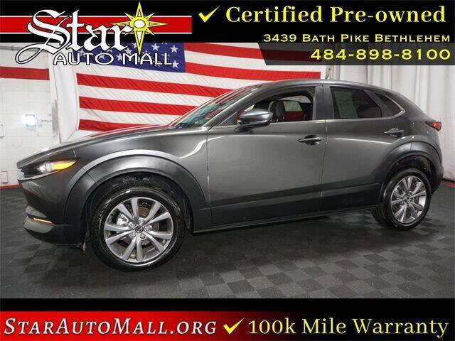 2021 Mazda CX-30 for sale at STAR AUTO MALL 512 in Bethlehem PA