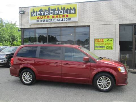 2015 Dodge Grand Caravan for sale at Metropolis Auto Sales in Pelham NH