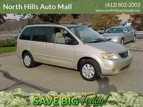 2001 Mazda MPV for sale at North Hills Auto Mall in Pittsburgh PA