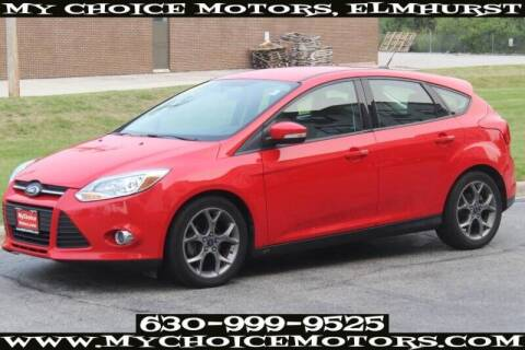 2014 Ford Focus for sale at My Choice Motors Elmhurst in Elmhurst IL