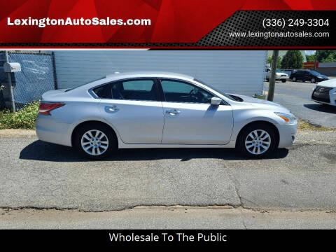 2015 Nissan Altima for sale at LexingtonAutoSales.com in Lexington NC