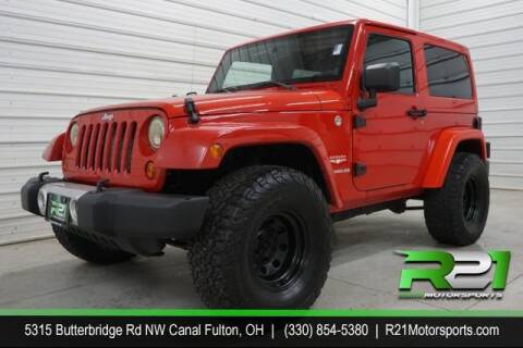 2012 Jeep Wrangler for sale at Route 21 Auto Sales in Canal Fulton OH