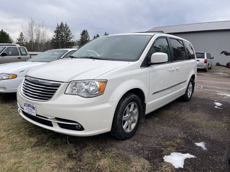 2012 Chrysler Town and Country for sale at Al's Auto Inc. in Bruce Crossing MI