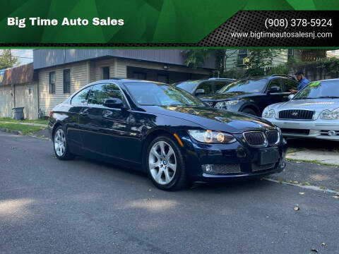 2008 BMW 3 Series for sale at Big Time Auto Sales in Vauxhall NJ