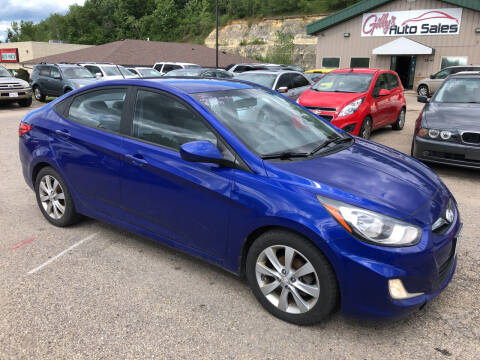 2012 Hyundai Accent for sale at Gilly's Auto Sales in Rochester MN