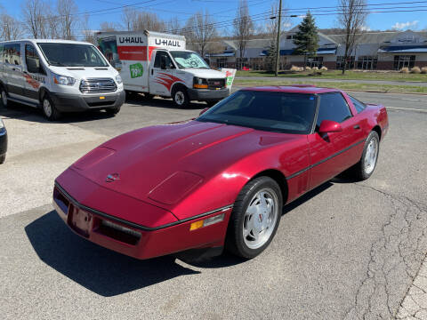 1989 Chevrolet Corvette for sale at Candlewood Valley Motors in New Milford CT