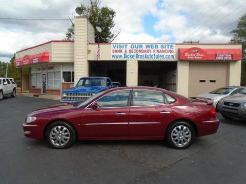 2009 Buick LaCrosse for sale at Bickel Bros Auto Sales, Inc in Louisville KY