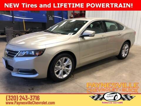 2014 Chevrolet Impala for sale at Paynesville Chevrolet - Buick in Paynesville MN