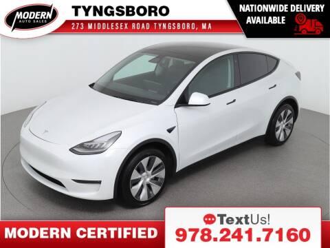 2020 Tesla Model Y for sale at Modern Auto Sales in Tyngsboro MA