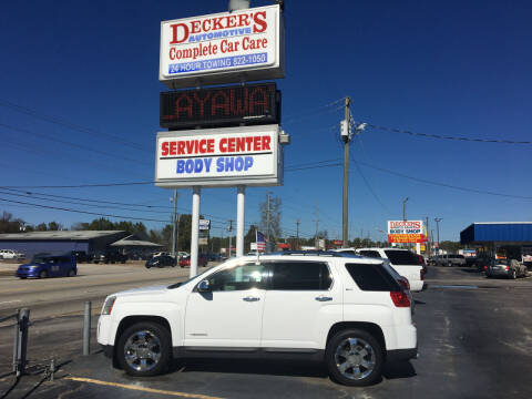 2010 GMC Terrain for sale at Deckers Auto Sales Inc in Fayetteville NC