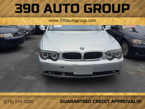 2005 BMW 7 Series for sale at 390 Auto Group in Cresco PA