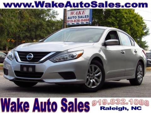 2016 Nissan Altima for sale at Wake Auto Sales Inc in Raleigh NC