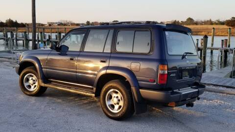 1997 Toyota Land Cruiser for sale at McQueen Classics in Lewes DE