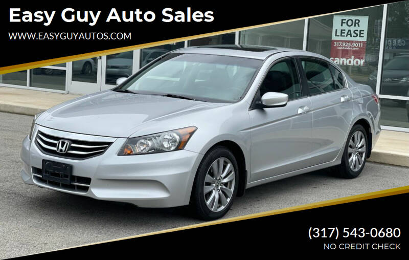 2011 Honda Accord for sale at Easy Guy Auto Sales in Indianapolis IN