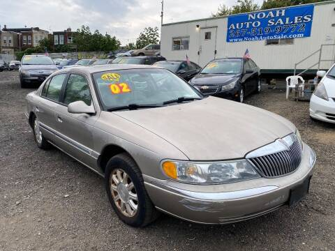 2002 Lincoln Continental for sale at Noah Auto Sales in Philadelphia PA