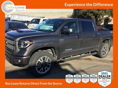 2019 Toyota Tundra for sale at Dallas Auto Finance in Dallas TX