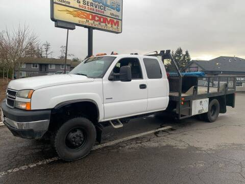 2007 Chevrolet Silverado 3500 CC Classic for sale at South Commercial Auto Sales in Salem OR