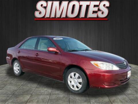 2003 Toyota Camry for sale at SIMOTES MOTORS in Minooka IL