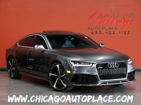 2016 Audi RS 7 for sale at Chicago Auto Place in Bensenville IL
