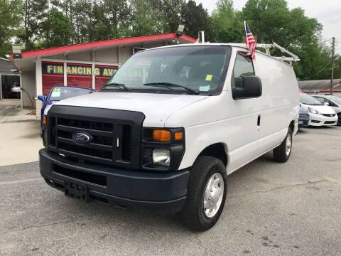2012 Ford E-Series Cargo for sale at Mira Auto Sales in Raleigh NC