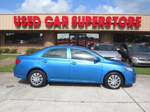 2009 Toyota Corolla for sale at Checkered Flag Auto Sales NORTH in Lakeland FL