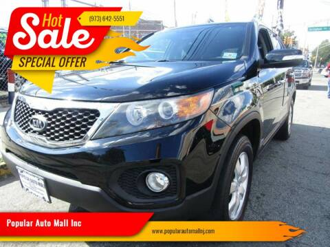 2011 Kia Sorento for sale at Popular Auto Mall Inc in Newark NJ