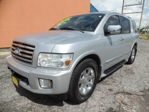 2007 Infiniti QX56 for sale at SARCO ENTERPRISE inc in Houston TX
