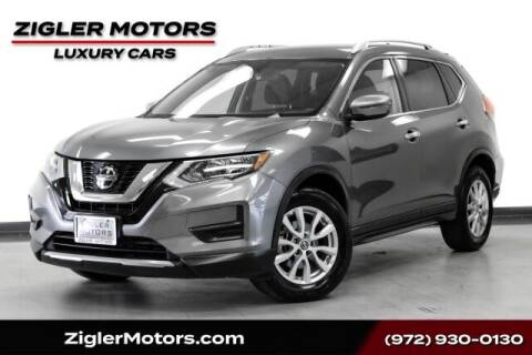 2019 Nissan Rogue for sale at Zigler Motors in Addison TX