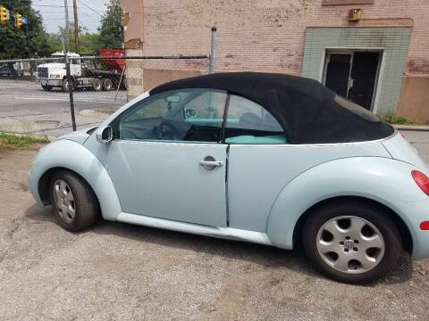 2003 Volkswagen New Beetle Convertible for sale at 216 Automotive Group in Cleveland OH