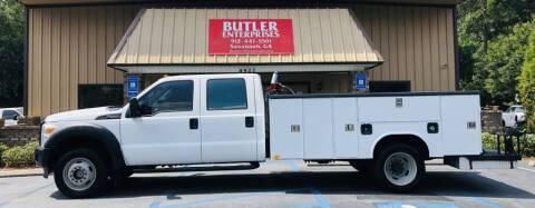 2011 Ford F-550 Super Duty for sale at Butler Enterprises in Savannah GA