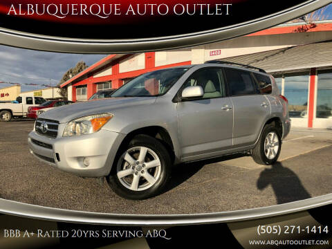 2006 Toyota RAV4 for sale at ALBUQUERQUE AUTO OUTLET in Albuquerque NM