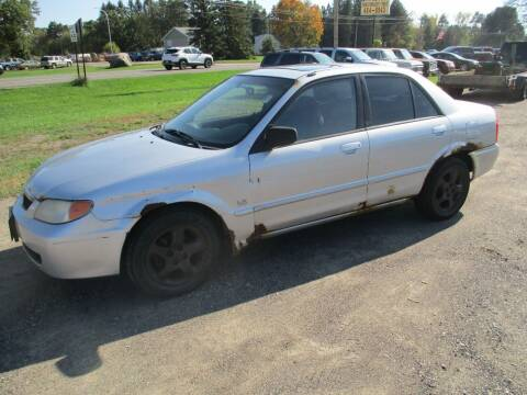 2001 Mazda Protege for sale at D & T AUTO INC in Columbus MN