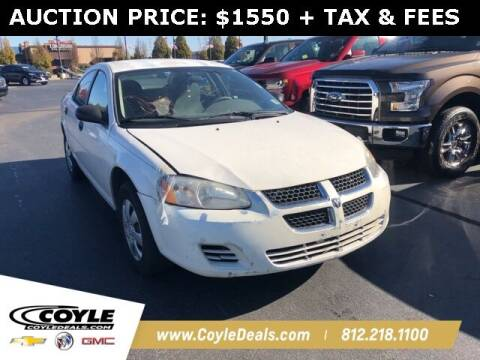 2004 Dodge Stratus for sale at COYLE GM - COYLE NISSAN - Coyle Nissan in Clarksville IN