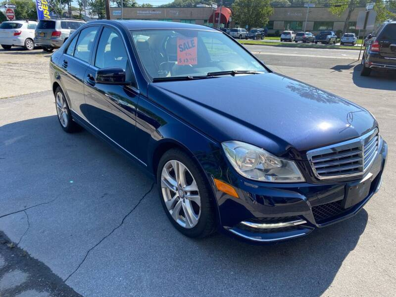 2012 Mercedes-Benz C-Class for sale at EAST CHESTER AUTO GROUP INC. in Kingston NY