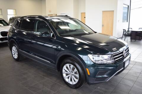 2018 Volkswagen Tiguan for sale at BMW OF NEWPORT in Middletown RI