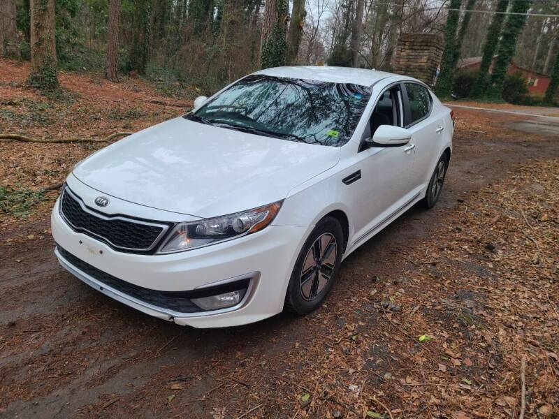 2012 Kia Optima Hybrid for sale at Cumberland Used Auto Parts in Marietta GA