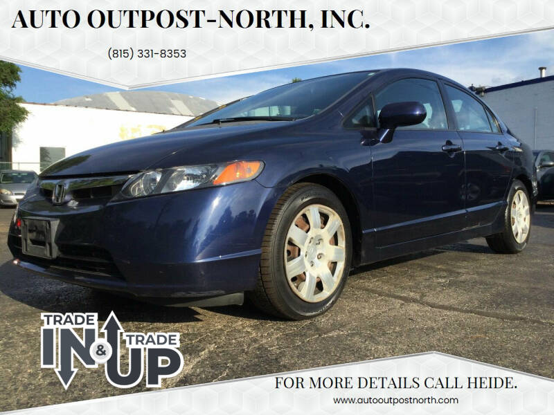 2008 Honda Civic for sale at Auto Outpost-North, Inc. in McHenry IL