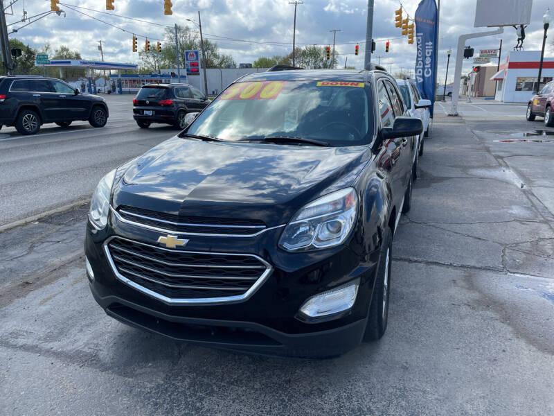 2016 Chevrolet Equinox for sale at National Auto Sales Inc. - Hazel Park Lot in Hazel Park MI