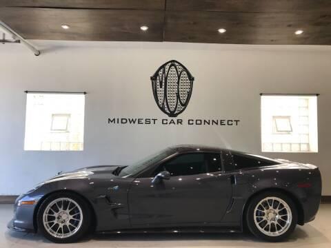 2010 Chevrolet Corvette for sale at Midwest Car Connect in Villa Park IL