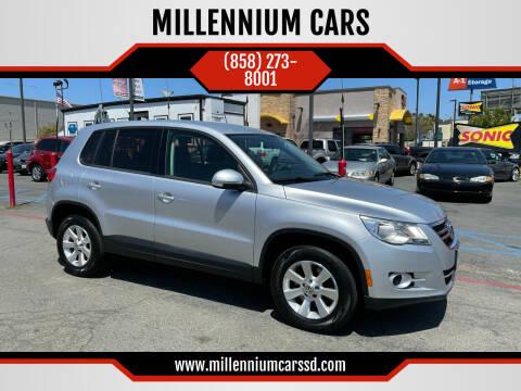 2012 Volkswagen Tiguan for sale at MILLENNIUM CARS in San Diego CA