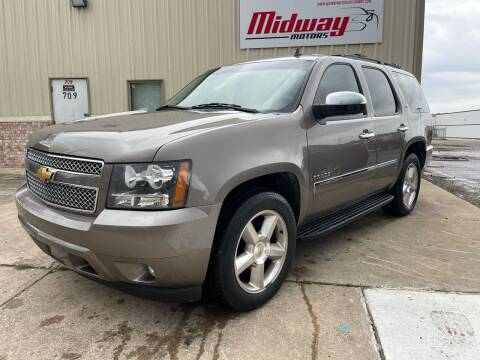 2013 Chevrolet Tahoe for sale at Midway Motors in Conway AR